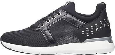 Nero Giardini A806590D Sneakers Donna in Pelle E Tessuto Tecnico