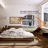 Wetterstation, Hongxin® Wetterstationen Funkwetterstation mit Außensensor Wlan LED-Anzeige Farbdisplay Kabellose Wetterstation mit Temperatur und Luftfeuchtigkeit für Innen und Außen - 3