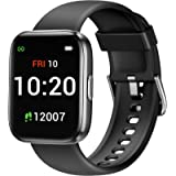 Letsfit IW1 Smart Watch, 1.4 Inch Touch Screen Fitness Trackers for Women Men, Heart Rate Monitor & Blood Oxygen…