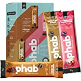 Phab Protein Bar Mini – 11g protein, No Preservatives, No Artificial Sweeteners, Zero Trans Fats: Pack of 6x 35g (Variety Pac