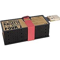 COOKUT - Lumi Raclette à la Bougie pour 2 - Faites Fondre Votre raclette en 3 Minutes - Spatule Bois Incluse - sans…