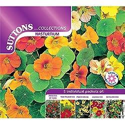 Suttons Seeds 139827 Samen Kapuzinerkresse, Kollektion