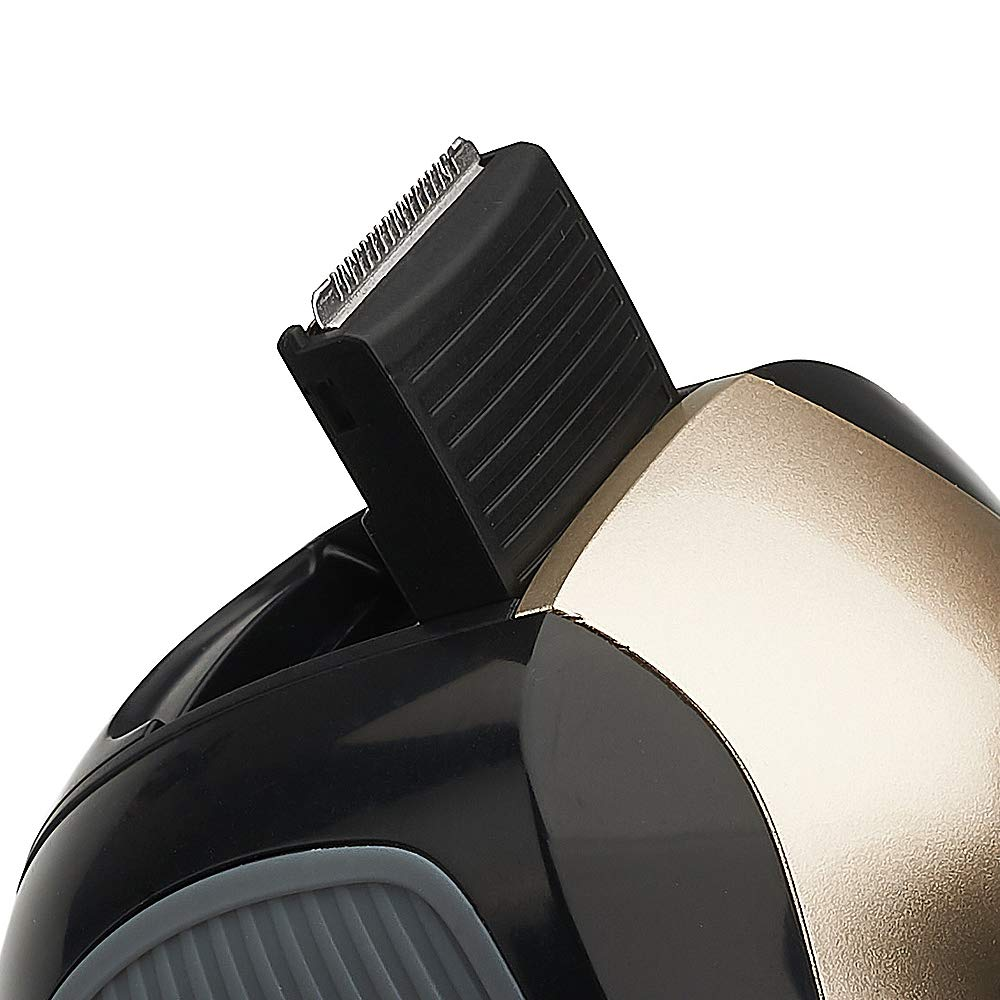 Mens Electric Shaver With Pop Up Trimmer Wet And Dry
