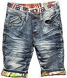 Herren Denim Shorts stretch WYOMING Nr.1505