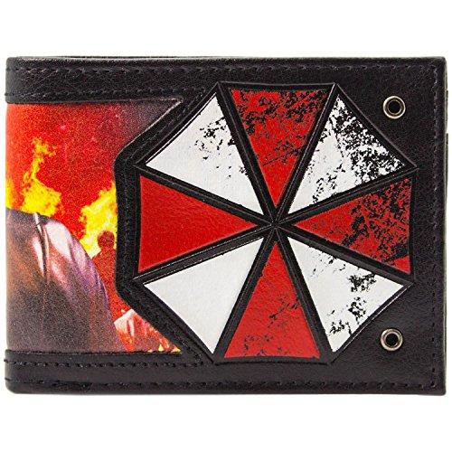Resident Evil 20th Anniversary Wesker Schwarz Portemonnaie Geldbörse