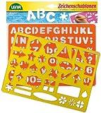 Lena 65774 - 2 Zeichenschablone Alphabet