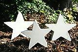 Sterne - Giessform - Betongussform - 3 unterschiedliche Größen