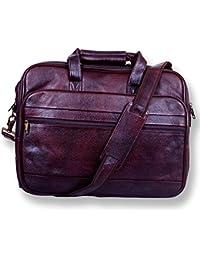 Apoorva Geniune Leather Bag Messenger Bag School Bag Official Bag brown Briefcase Leather Cross-body Bag For... - B076FTW97H
