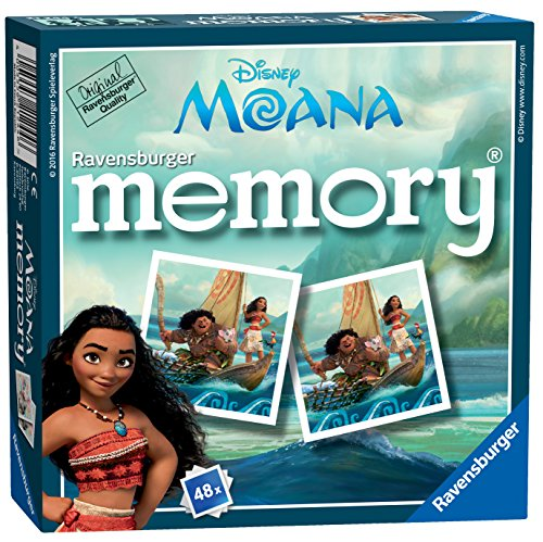 Ravensburger 21244 Moana Disney Mini Memory Game