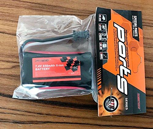 Preisvergleich Produktbild 7.4V 650mAh Lithium-Batterie für L.Y.L Rc Auto(BG1510)für1 24 ferngesteuerte autos L.Y.L