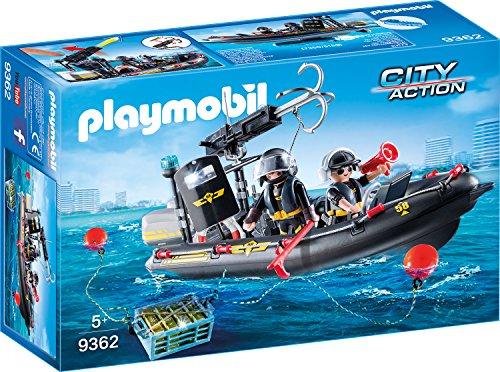 Playmobil 9362 - SEK-Schlauchboot Spiel Das Boot Spiel
