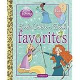 Disney Princess Little Golden Book Favorites: Volume 3 (Disney Princess) by Tennant Redbank (2014-01-07)