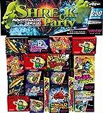 250 Teile - SHRECK PARTY - KINDERFEUERWERK + Parkscheibe
