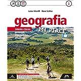 Geografia mi piace. Con Atlante-Regioni. Con e-book. Con espansione online. Per la Scuola media: 1