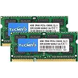TECMIYO 8GB Kit (2x4GB) PC3L 12800s sodimm DDR3L / DDR3 1600MHz CL11 PC3-12800 1,35V/1,5V 204Pin Nicht-ECC Ungepuffertes SODI