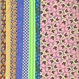 Vervaco–Kit para hacer costura tela Set: Violeta–varios diseños