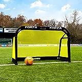 FORZA POD 1,5m x 0,9m Aluminium Faltendes Fußball-Tor | Fußballkäfig Für Training [Net World Sports]