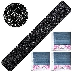 Pana Black Nail Files Jumbo Size (Grit: 80 x 80