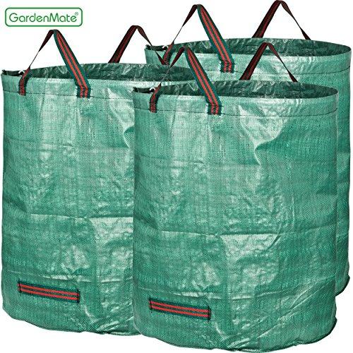 GardenMate® 3x Gartensack | Gartenabfallsack | Gartensack | Laubsack