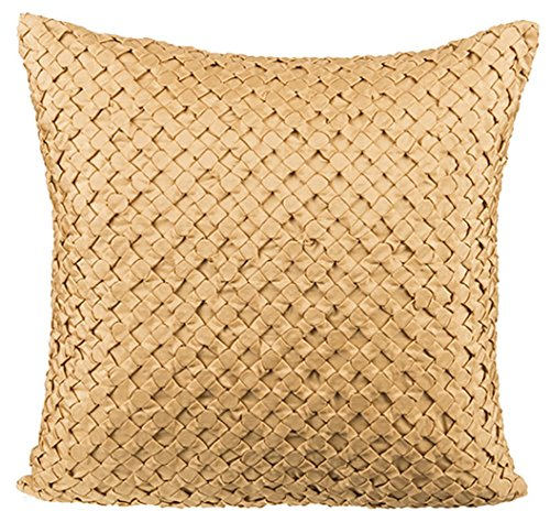 Onset Designs silk poly textured cushion cover (18