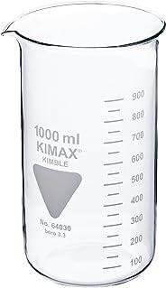 neoLab Becherglas Hohe Form mit Ausguss, Kimax Boro 3.3, Glas