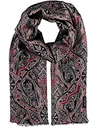FRAAS Men's Paisley Scarf One Size (Manufacturer's Size: os)