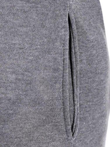 Abbigliamento donna pullover, camicia manica lunga camicia di t sciolti Grigio