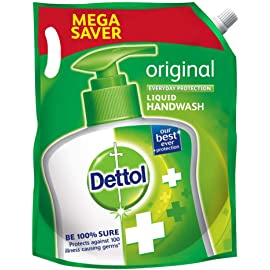 Dettol Original Germ Protection Handwash Liquid Soap Refill
