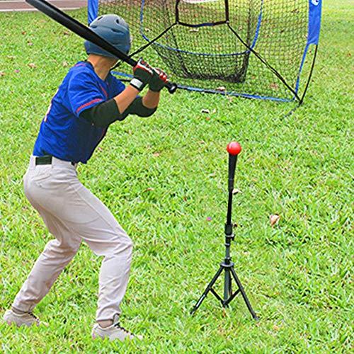 Cocoarm Baseball Batting Tee Höhenverstellbar Softball Portable Stativ Stand Verstellbarer Baseballständer für Batting Training Practice