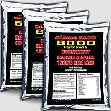 3x Amino Blog 6000 = 420 Tabletten Aminosäuren | Glutamin, BCAA, Arginin | Muskelaufbau & Muskelerhalt | Anabol + Antikatabol |Hochdosiert zum Preishammer