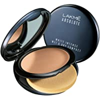 Lakmé Absolute White Intense Wet and Dry Compact, Almond Honey, 9g