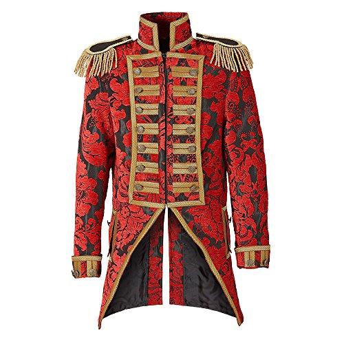 Widmann 59363 - Herren Frack Jacquard Parade kostüm, L