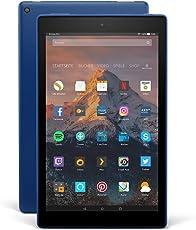 Fire HD 10-Tablet mit Alexa Hands-free, 25,65 cm (10,1 Zoll) 1080p Full HD-Display, 32 GB, Blau, mit Spezialangeboten