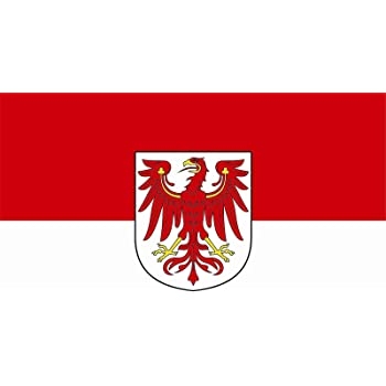 Flagge Fahne Brandenburg Bootsflagge Bootsfahne