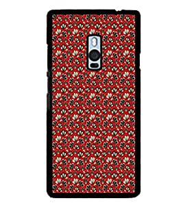 ifasho Designer Phone Back Case Cover OnePlus 2 :: OnePlus Two :: One Plus 2 ( White and Black Pattern Design )