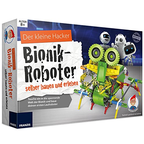 Unbekannt Experimentier Set Bionik Roboter selber Bauen und erleben Bauteile sind Legokompatibel ab 8 Jahren • Bausatz Experimentierkasten Kinder Elektronik Spiel Set