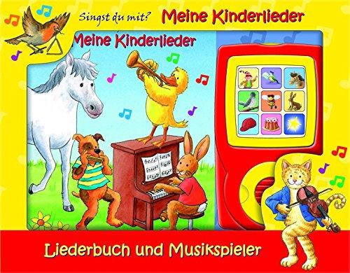 Meine Kinderlieder - Liederbuch und Musikspieler - Pappbilderbuch par Phoenix International Publications (pikids)