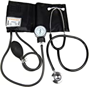 AME Delux Plus Aneroid Sphygmomanometer with FREE Stethoscope and Calibration Key