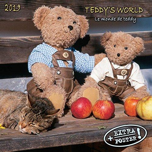 Teddy's World 2019: Kalender 2019 (Artwork Edition) (Tv Teddy)