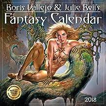 Boris Vallejo & Julie Bell's 2018 Fantasy Calendar