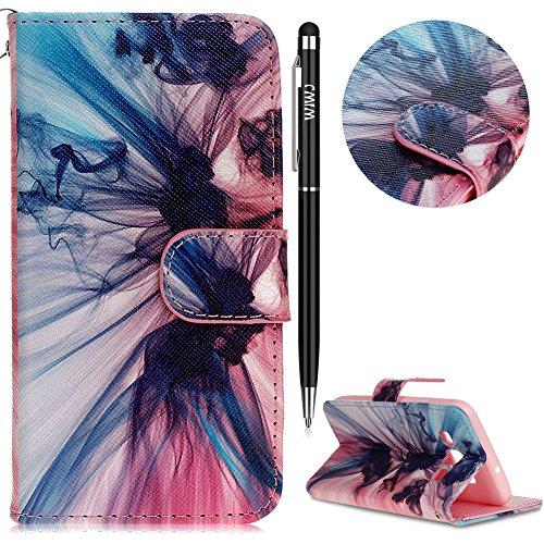 WIWJ Schutzhülle für Samsung Galaxy A3 Handyhülle Leather Case für Samsung Galaxy A3 (2015 Modell) Hülle [Gemalt Handy-Shell]Hülle für Samsung Galaxy A3-Phantom