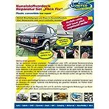 reparación renovar coche descapotable para carpas toldos o lona y plástico BLANCO