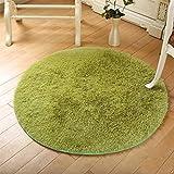KYDJ Runden Teppich Teppich Teppich computer Fitness yoga Sitzkissen Schlafzimmer Wohnzimmer Bett Fußbodenbelag (Größe: Durchmesser 200 CM)