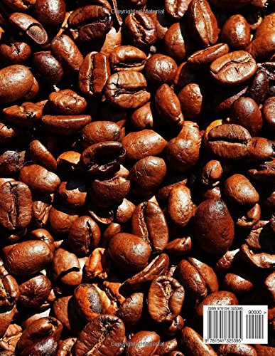 My Notebook: Coffee Bean Design Notebook/Journal with 110 Lined Pages (8.5 x 11)