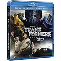 Transformers : The Last Knight 3D Blu-ray+ Blu-ray + Blu-ray bonus