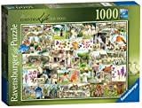Ravensburger Country Life Nr. 1–The 1900's Spielset Puzzle, 1000Einzelteile