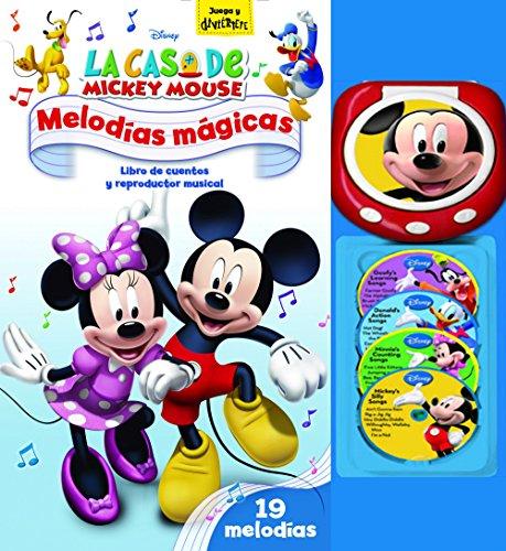 La música es muy importante en La casa de Mickey Mouse y ahora puedes disfrutarla gracias a este libro de cuentos con reproductor musical. Lee la historia de Mickey y sus amigos mientras suenan las canciones en el reproductor portátil para dar a cada...