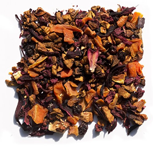 Tea Lab Cinderella | Strawberry And Vanilla Fruit Tea With Dried Strawberry And Raisins