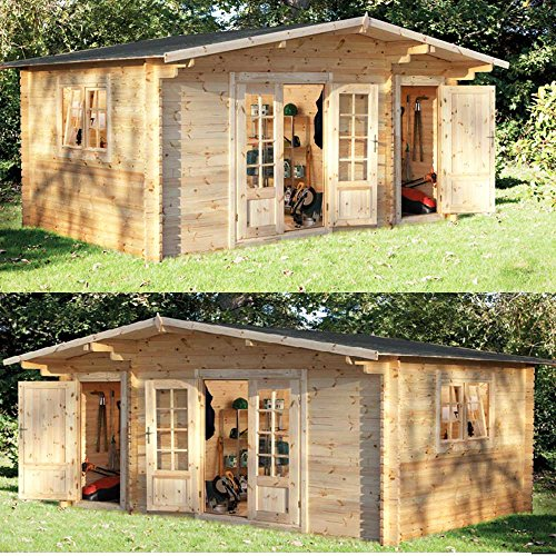 Wrekin Log Cabin...