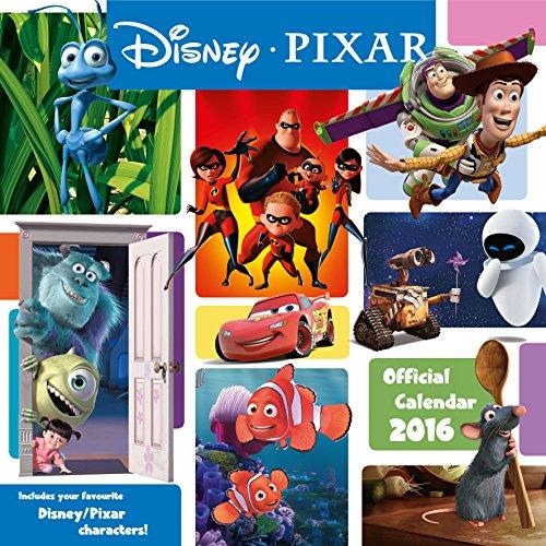 The Official Pixar (Movie) 2016 Square Calendar (Calendar 2016) por Danilo